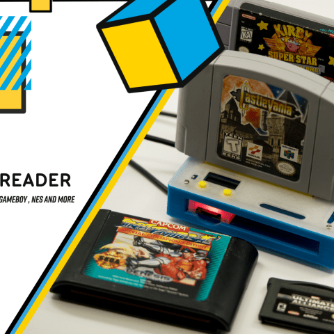 Sanni Cart Reader – Compatible with SNES Genesis, N64, GB, GBC, GBA and More – Backup Flasher Dumper