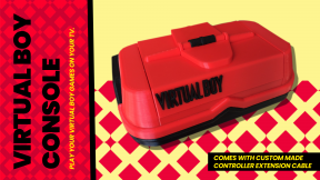NEW VIRTUAL BOY CONSOLE – PLAY YOUR VIRTUAL BOY GAMES ON YOUR TV!