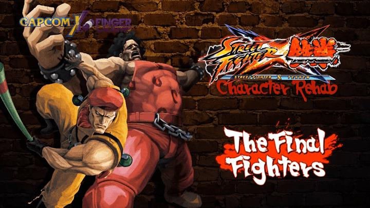 Official Street Fighter X Tekken Rehab Character Guides